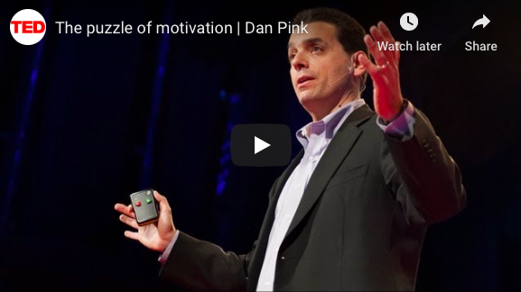 The surprising truth about what motivates us – Daniel Pink