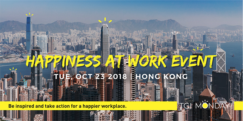 Happiness at work event